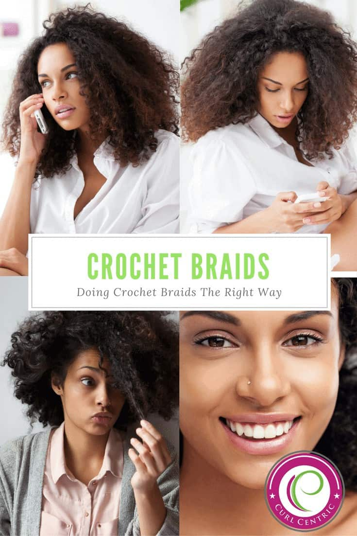 This DIY article on crochet hair styles covers how to do small, medium, thin and jumbo natural hairstyles. Whether your using freetress, senegalese or crochet hair or your hair is curly, short, long, or contains color this step-by-step walkthrough will provide the best crochet braid ideas for black, African American, caucasian, Asian girls and kids, plus all straight, wavy, curly or kinky hair types. #DIY #crochetbraids #blackgirls #hairstyles #kids #AfricanAmericans #braids #tips #steps #natural #jumbo