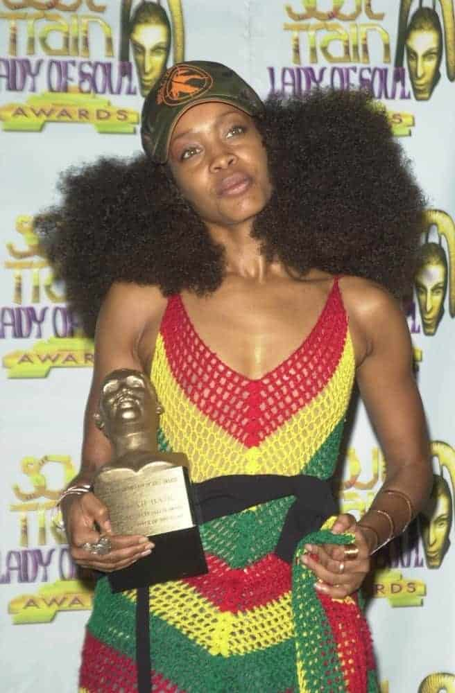 Erykah Badu at the 9th Annual Soul Train Lady of Soul Awards