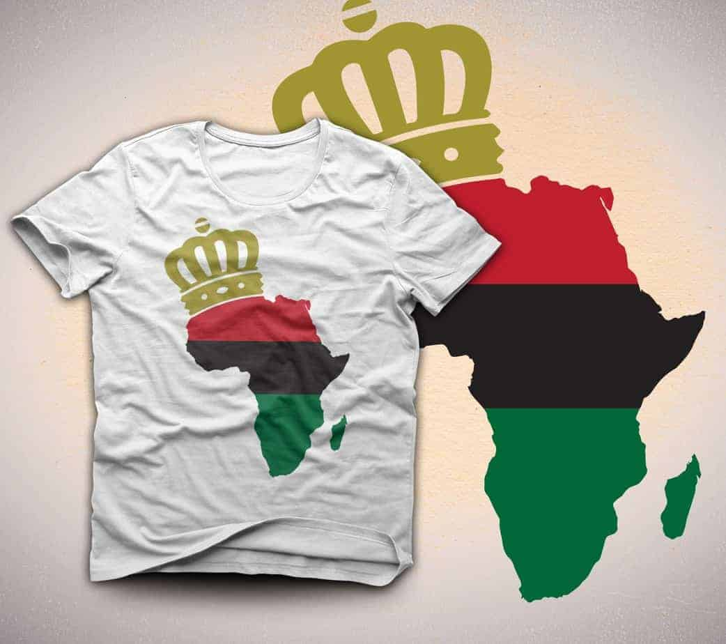 African-American Pride: Men, Women and Kids T-Shirts