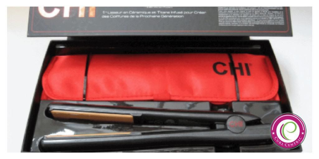 CHI G2 flat iron Inside the Box