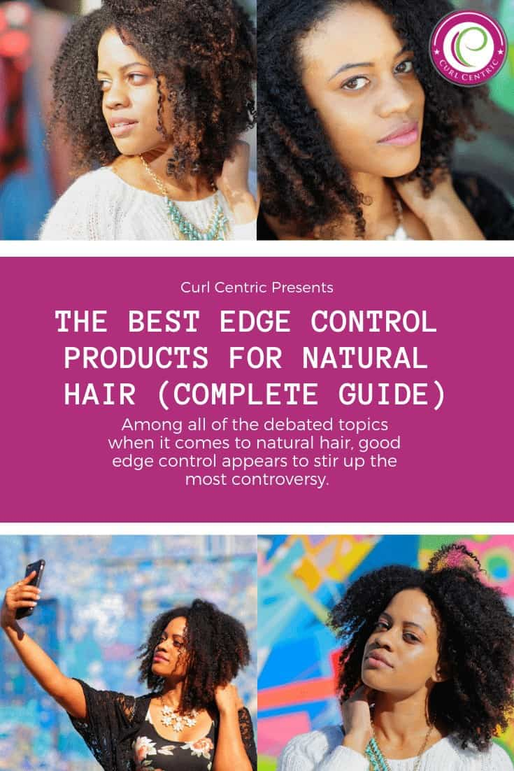 This article outlines the best edge control gels for 4c black natural hair and includes tips for men, women and kids, including ideas, results, benefits, and step-by-step video tutorials for those crazy DIY (at home) people. Finding good edge control products for that perfect style can be difficult, but these edge control products (like eco styler gel) are perfect for protective styles, flat twists, braids, dreadlocks and many other natural hair styles.  #edgecontrol #DIY #naturalhair