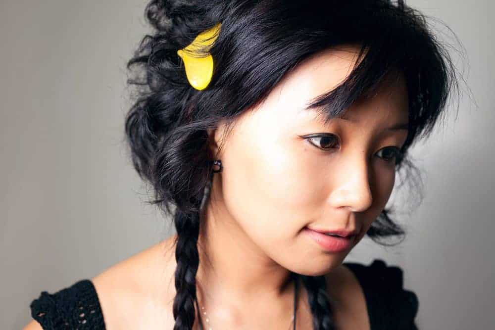 Japanese hairstyles of young women