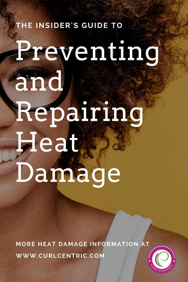 Using flat irons and other heating appliances can lead to heat damage on natural hair, regardless of whether you normally have curls, waves or straight hairstyles. Before and after pictures can be scary, but our goal is to provide tips and techniques that prevent heat damage, because attempts to repair heat damage rarely lead to recovery.