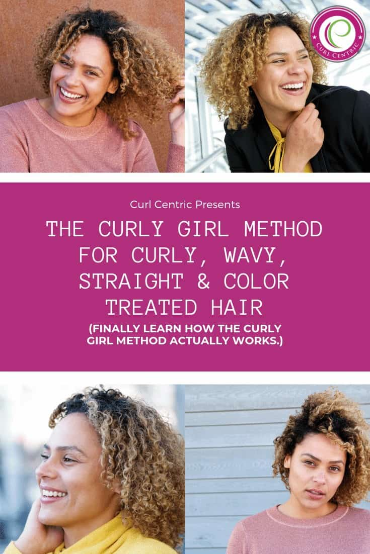 The Curly Girl Method helps women achieve and maintain healthy hair by creating a curly hair regimen without the use of shampoo and heat styling tools. Although, most bloggers don't tell you which products to use (curly girl approved products), the routine to follow or show you before and after photos or videos. This article is for beginners with curly, wavy, straight and color treated hair. #curlygirlmethod #products #routine #mousse #beginner #steps #curlyhair #curlygirl #wavy #lowporosity