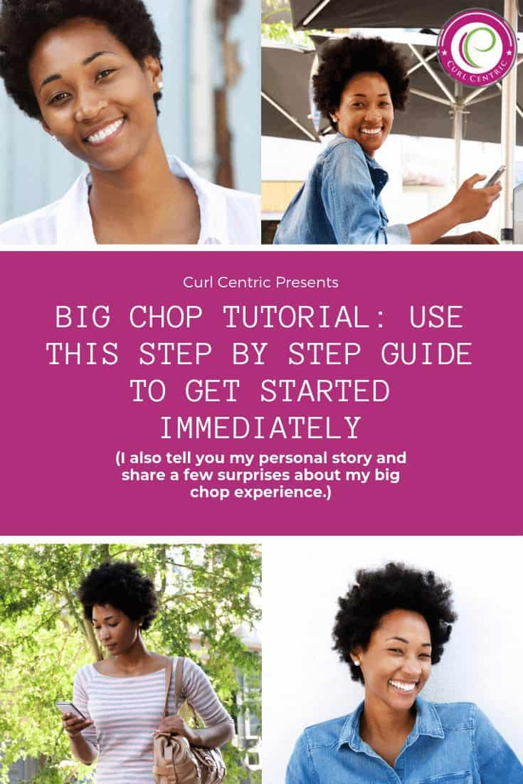 The big chop is the act of taking your natural hair journey from transitioning to officially 100% natural (i.e., going natural) with a TWA in a matter of minutes. It's a common hairstyle for women with 4a, 4b, and 4c hair types. It's also common for women with round faces to wear these short TWA hairstyles indefinitely. Use this step-by-step guide to get started immediately, before and after photos and videos, tips, inspiration and other advice. #twa #naturalhair #beforeandafter #roundface #tips #advice
