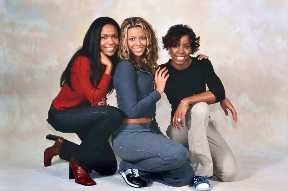 Beyoncé's work conjure up images of the singer during her Destiny's Child days