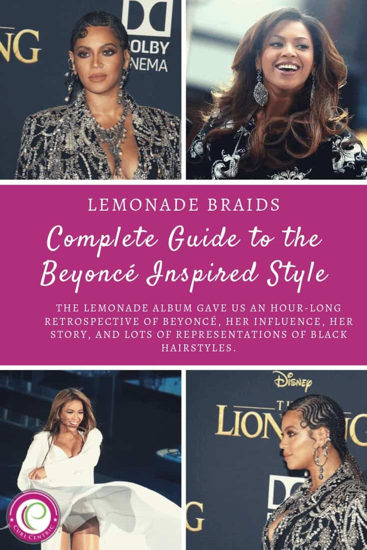 Lemonade Braids Beyonce Collage